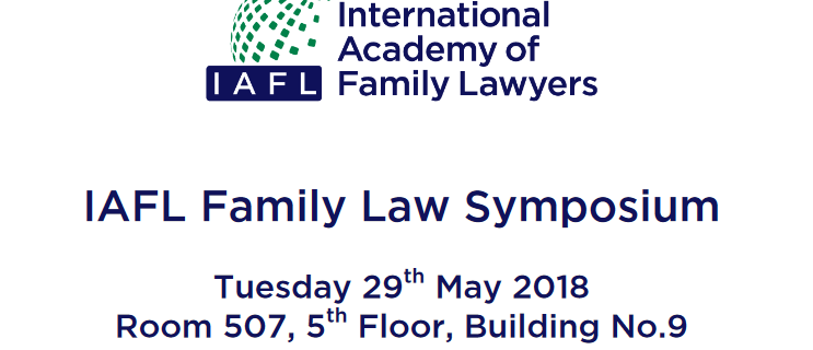 IAFL Family Law Symposium, Tokyo 2018
