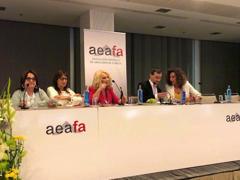 Presentación de AIJUDEFA en las Jornadas Centrales de AEAFA