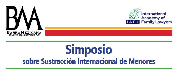 Ponencia en el «Simposio sobre Sustracción Internacional de Menores» de México