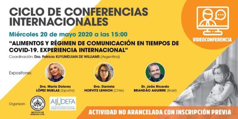 Videoconferencia Internacional